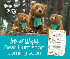 Isle of Wight We're Going on a Bear Hunt Shop