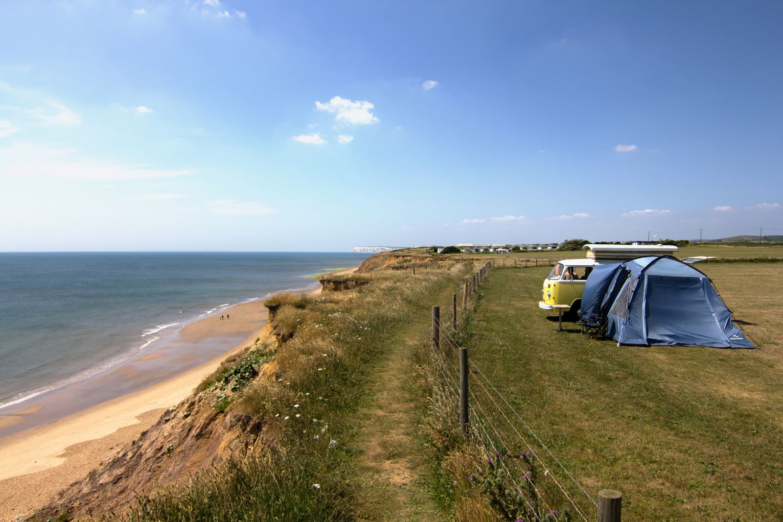 How to pick the perfect Isle of Wight campsite  Visit Isle Of Wight