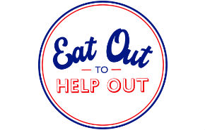 Eat Out to Help Out Logo - Isle of Wight