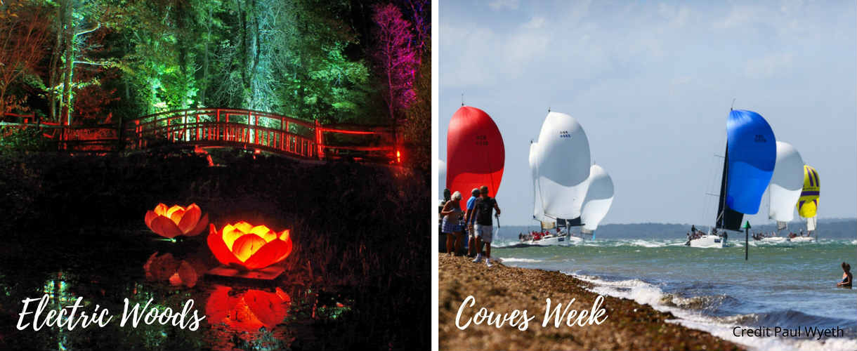 Isle of Wight Festivals - Electric Woods, Cowes Week