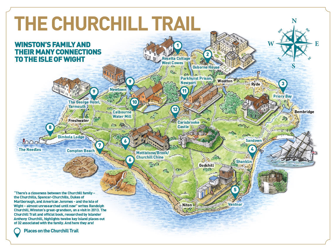 Follow the Churchill Trail  Visit Isle Of Wight
