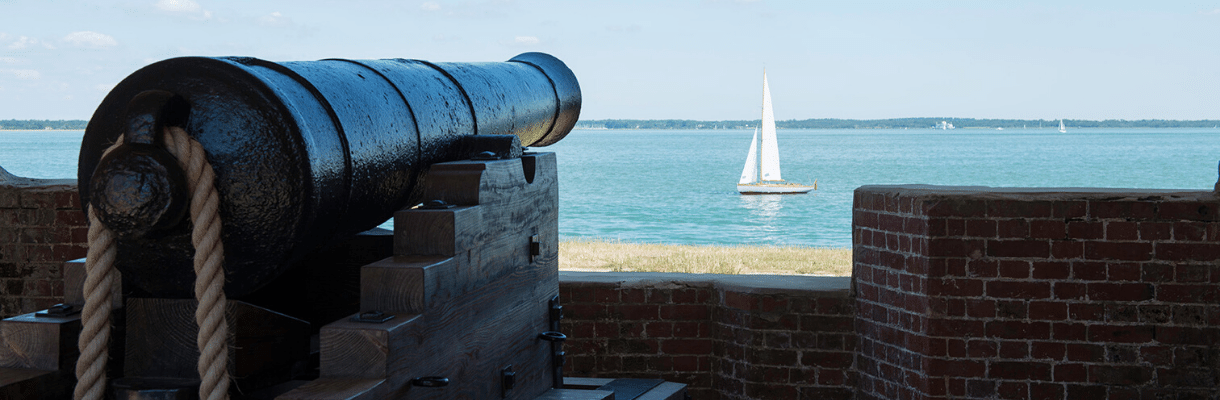 Forts and historic buildings on the Isle of Wight
