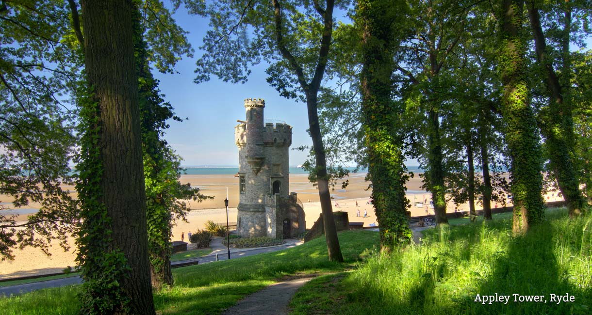 Accessible Isle of Wight - Appley Tower, Ryde