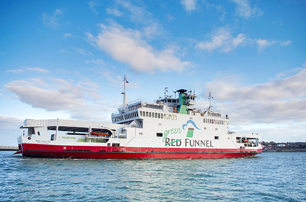 Red Funnel Ferry - Isle of Wight Accommodation