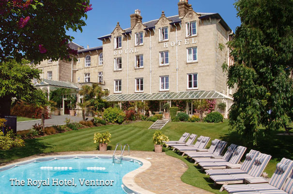 Isle of Wight Accommodation - The Royal hotel, Ventnor