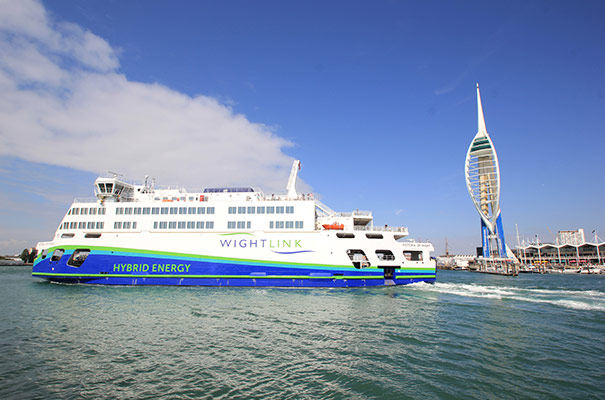 Wightlink Ferry - Isle of Wight Accommodation