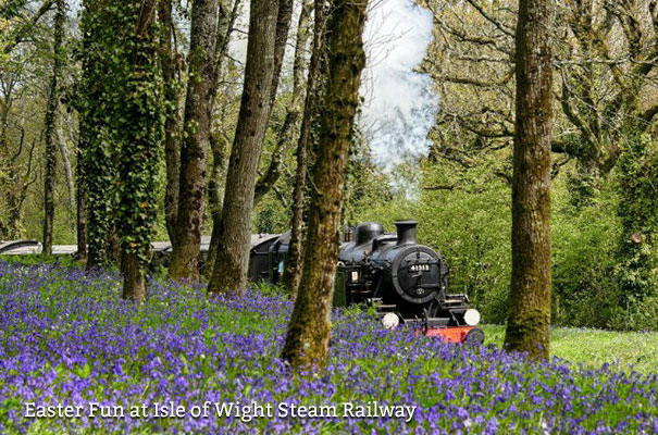 Easter Fun at Isle of Wight Steam Railway - Isle of Wight