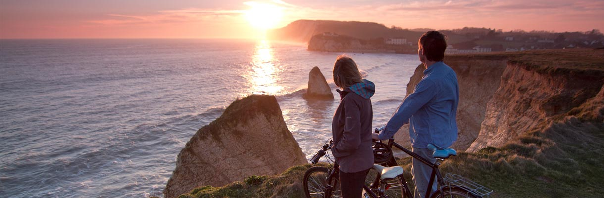 Autumn walking and cycling on the Isle of Wight