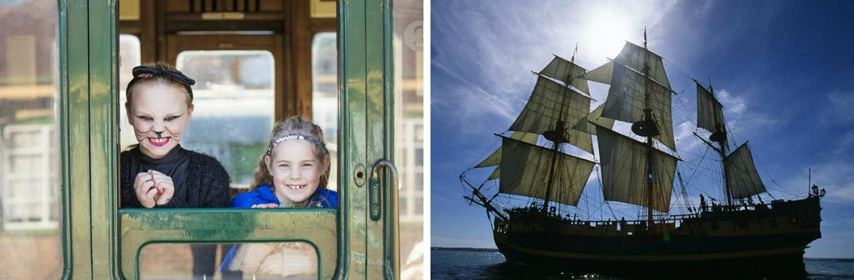 October half term on the Isle of Wight - Wizard Week - Pirates, Shipwrecks and Smuggling