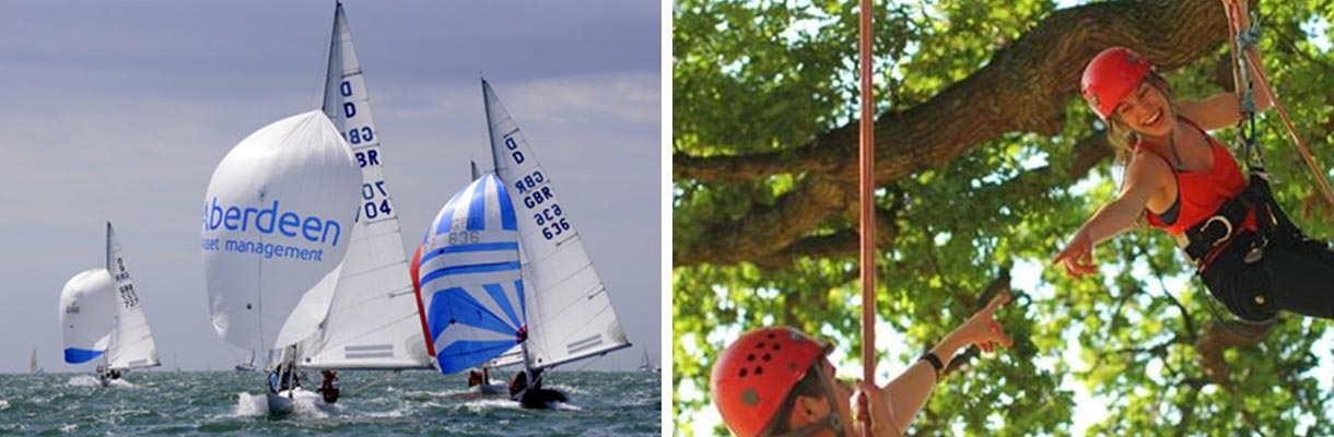 Sporting activities on the Isle of Wight