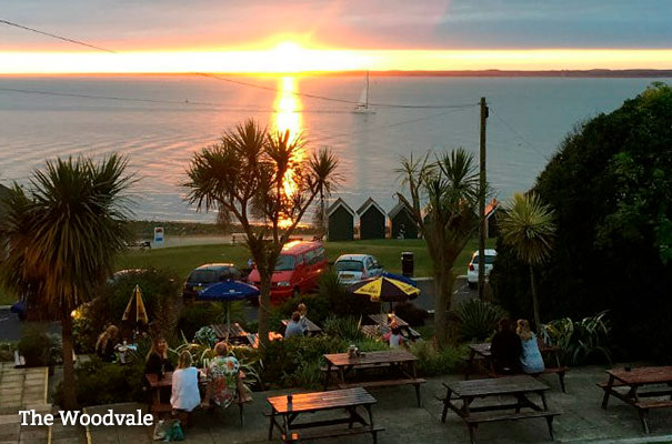 The Woodvale - Eating out by the sea - Isle of Wight