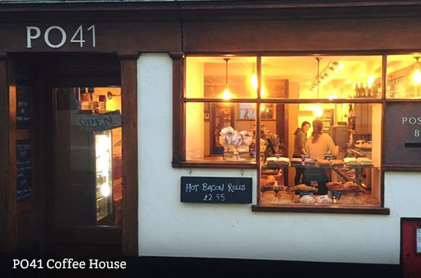 PO41 Coffee House - Eating out with History - Isle of Wight