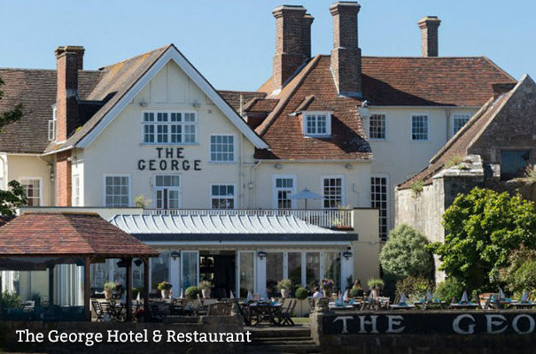 The George Hotel - Eating out with History - Isle of Wight