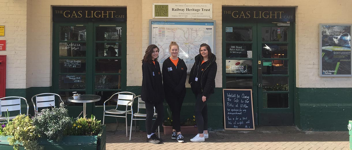 Island Line Trains - This article was written by two of our Isle of Wight College interns, Jade Honey and Laura Pike