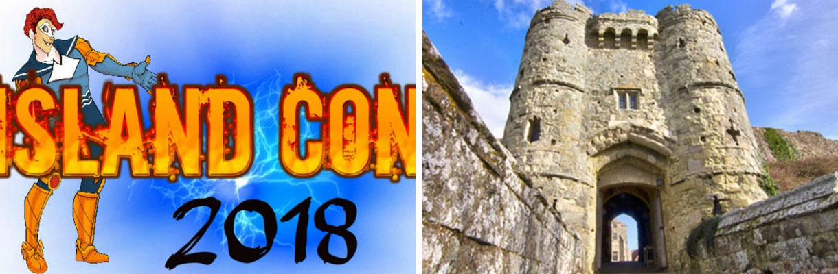 Island Con 2018 and spooky tales at Carisbrooke Castle on the Isle of Wight