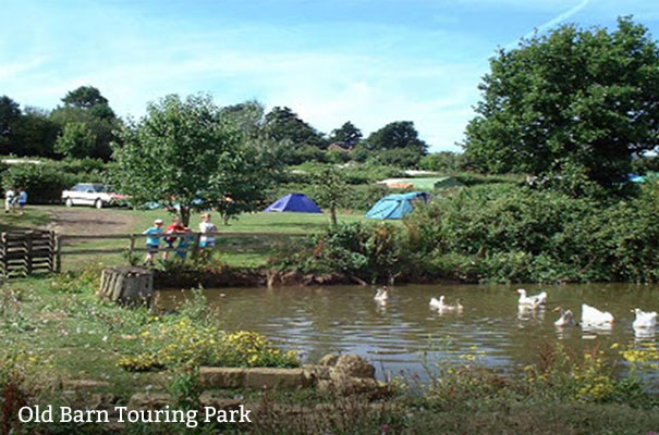 Old Barn Touring Park - Seven self-catering stays - Isle of Wight