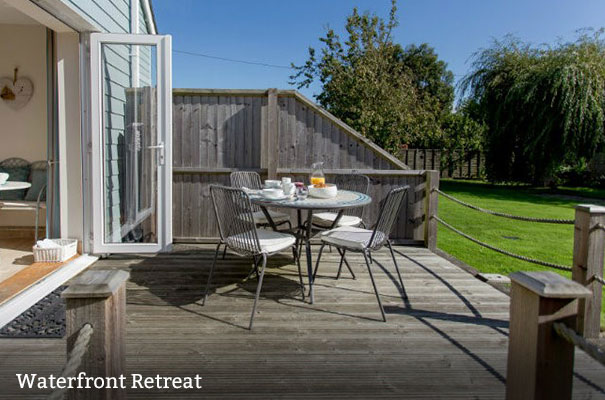 Waterfront Retreat - Seven self-catering stays - Isle of Wight