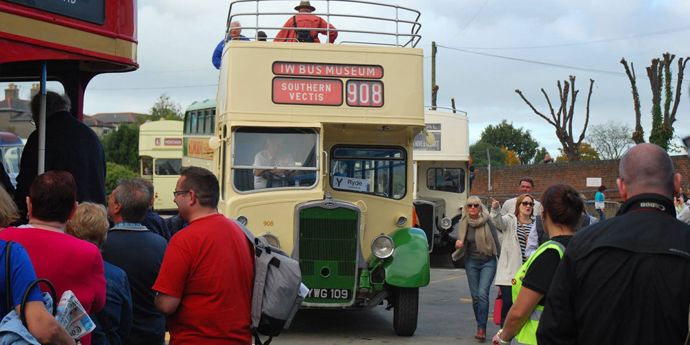 Classic Beer and Buses on the Isle of Wight