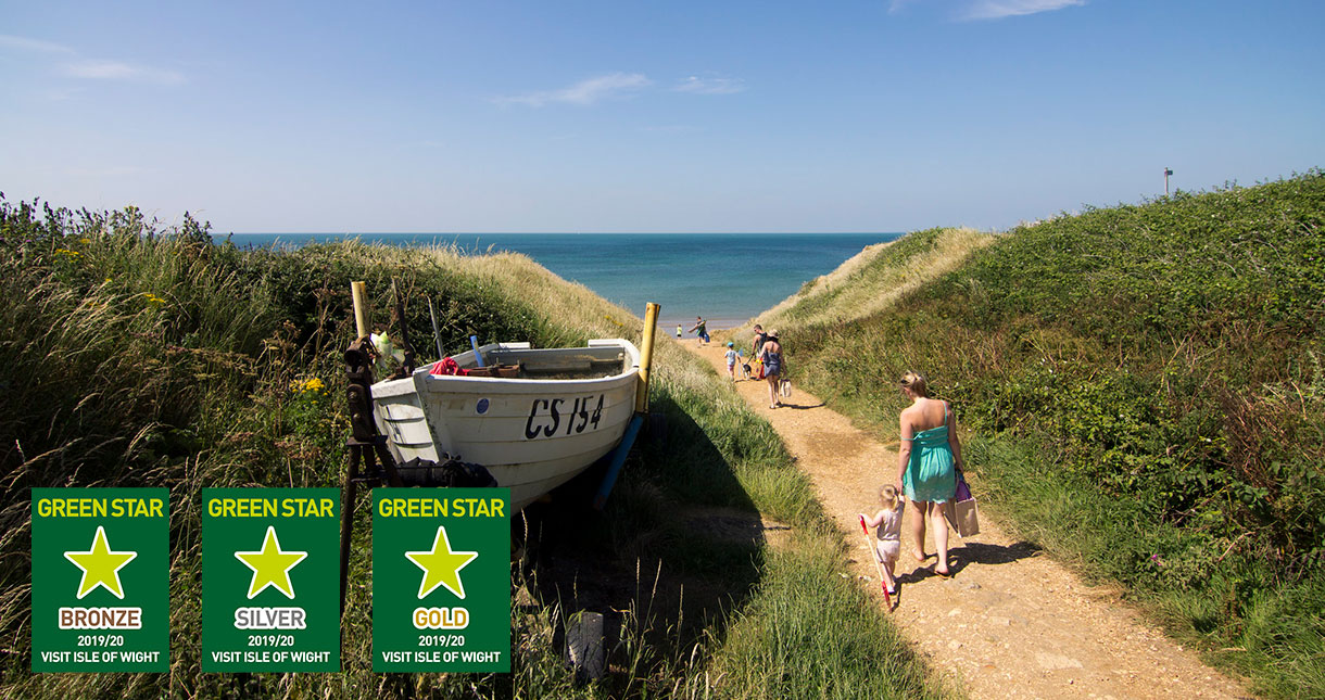 What is a Green Star business? - Isle of Wight - Sustainable Travel