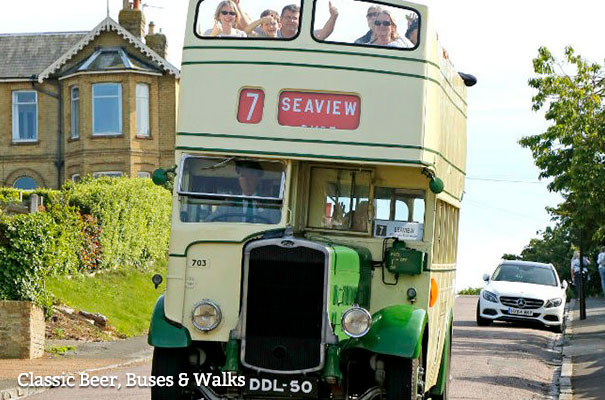 Classic, Beer, Buses and Walks - October - What's On - Isle of Wight