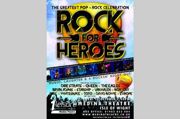 Rock for Heroes - October - What's On - Isle of Wight