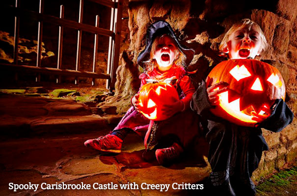 Spooky Carisbrooke Castle with Creepy Critters - October - What's On - Isle of Wight