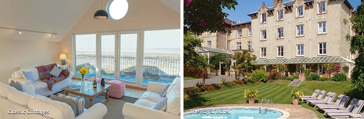 Where to stay on the Isle of Wight - Classic Cottages - The Royal Hotel