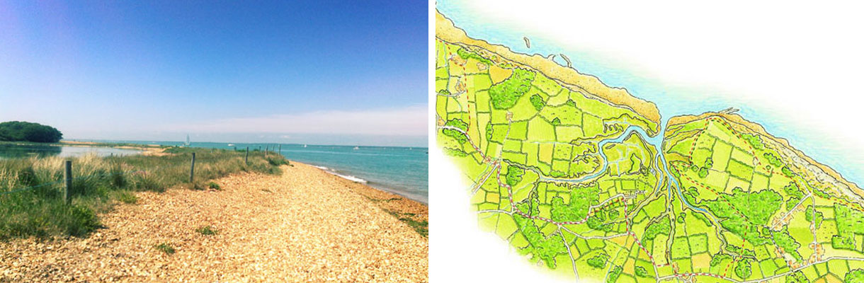 Coast and country on the Isle of Wight - Hamstead Ledge | Hamstead Heritage Coast