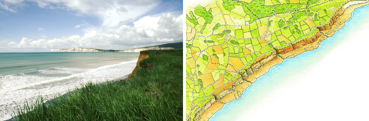 Coast and country on the Isle of Wight - Tennyson Heritage Coast