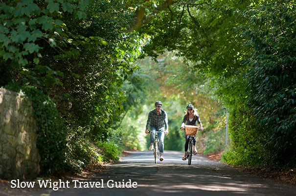 Slow Wight Travel Guide - Cycling - Isle of Wight