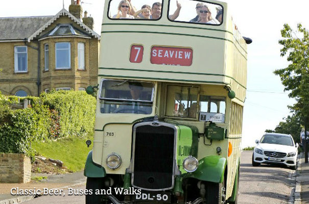 Classic Beer, Buses and Walks - Isle of Wight