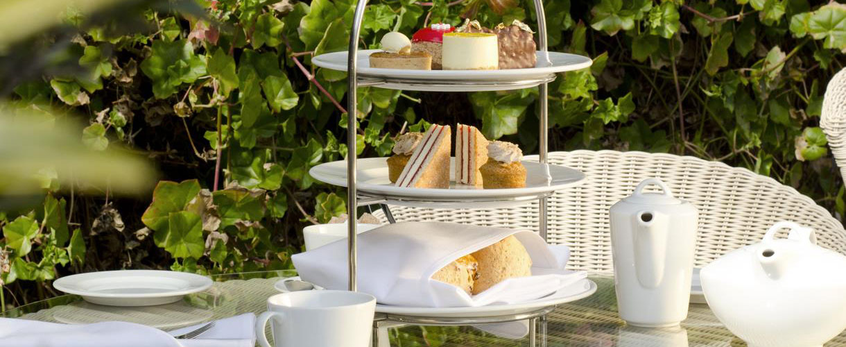 Afternoon tea on the Isle of Wight