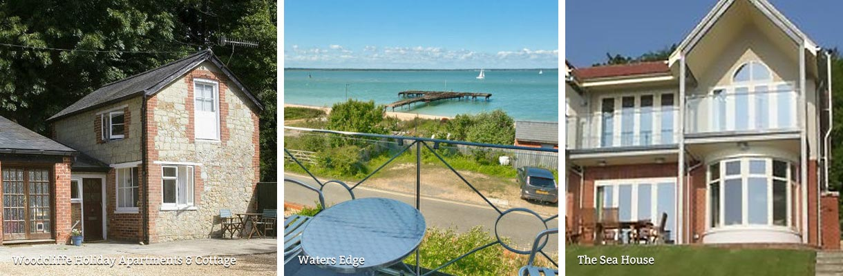 Holiday Cottages with a sea view on the Isle of Wight
