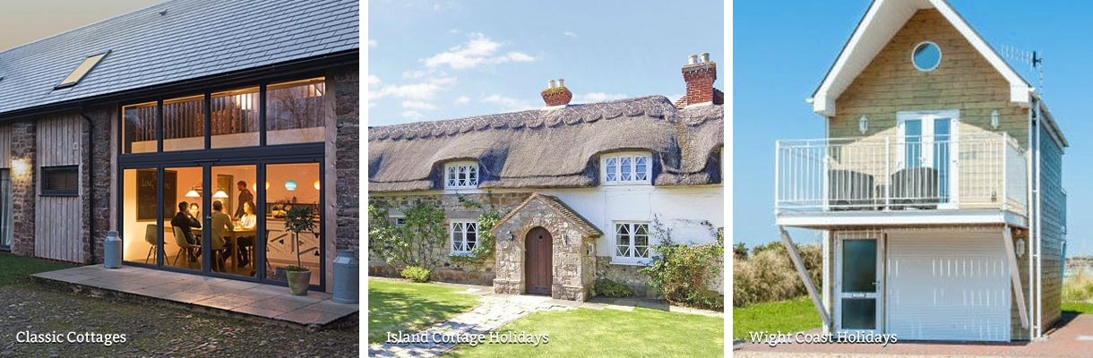 Self-catering holiday cottages on the Isle of Wight