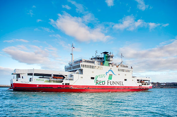 Red Funnel car ferry - Isle of Wight