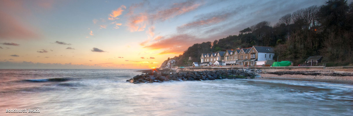 Bonchurch Beach on the Isle of Wight