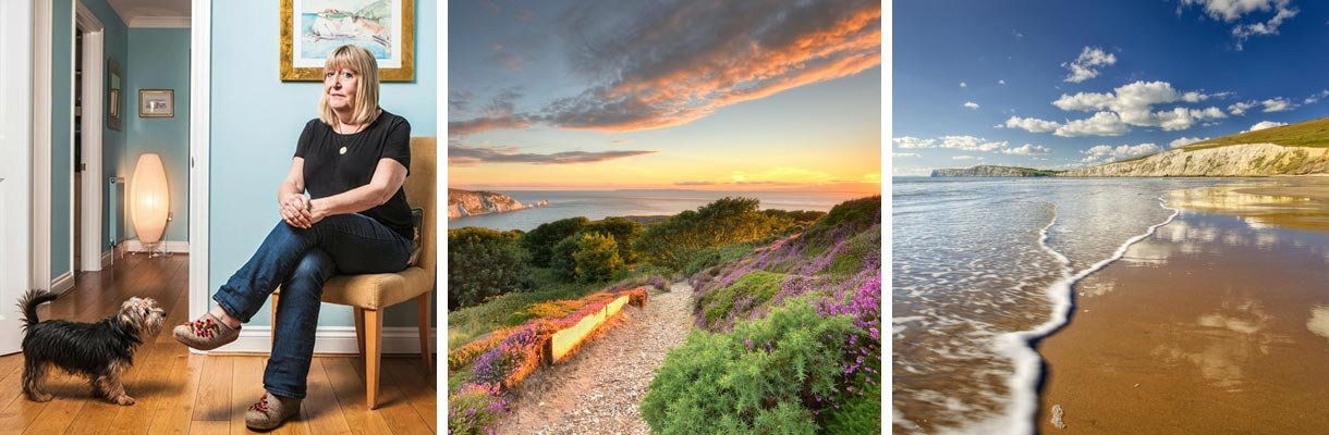 Isle of Wight Literary Heroes - Lynne Truss on the Isle of Wight