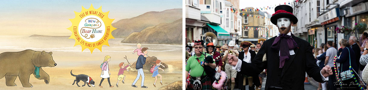 Official Isle of Wight Bear Hunt Adventure Weekends & Ventnor Fringe