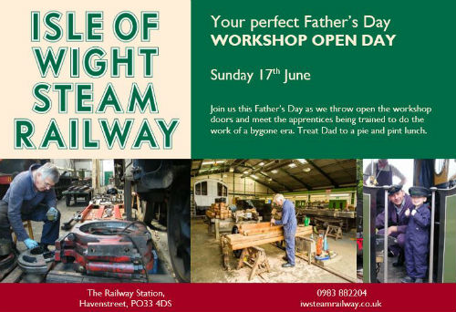 Open Workshop day at the Steam Railway
