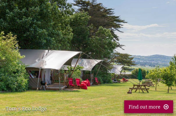 Tom's Eco Lodges - Safari Tents - Isle of Wight