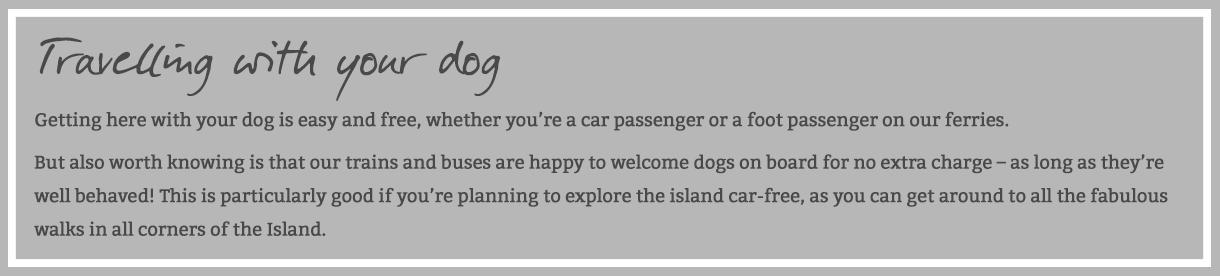 Dog Friendly Isle of Wight - VisitIsleOfWight co uk