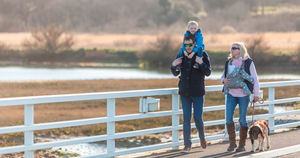 Family friendly places to walk on the Isle of Wight