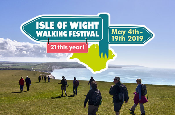 Isle of Wight Walking Festival - 4th to the 19th May - Isle of Wight