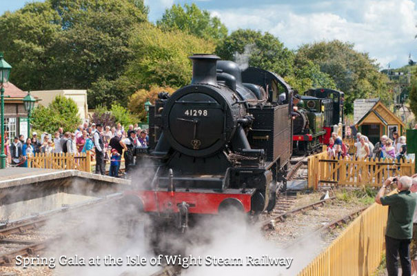 Spring Gala at the Isle of Wight Steam Railway - Isle of Wight