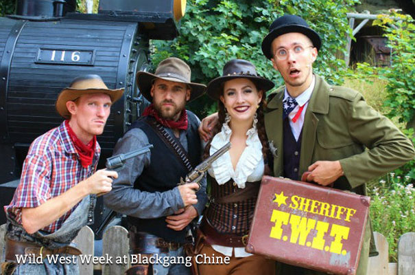 Wild West Week at Blackgang Chine - Isle of Wight