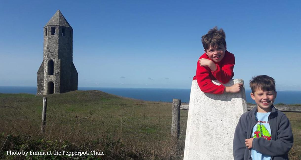 Photo by Emma at the Pepperpot, Chale on the Isle of Wight