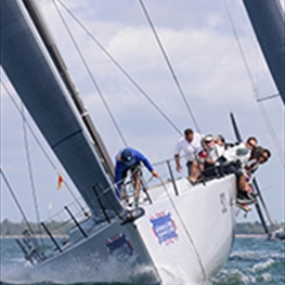 The world's biggest sailing regatta takes place on the Isle of Wight in August every year