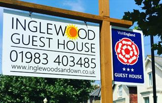 Inglewood Guest House - Bed & Breakfast, Isle of Wight