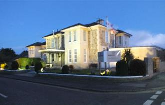 Outside view of Wighthill Hotel, Sandown, Isle of Wight