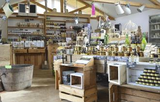 Quarr Abbey Farm Shop